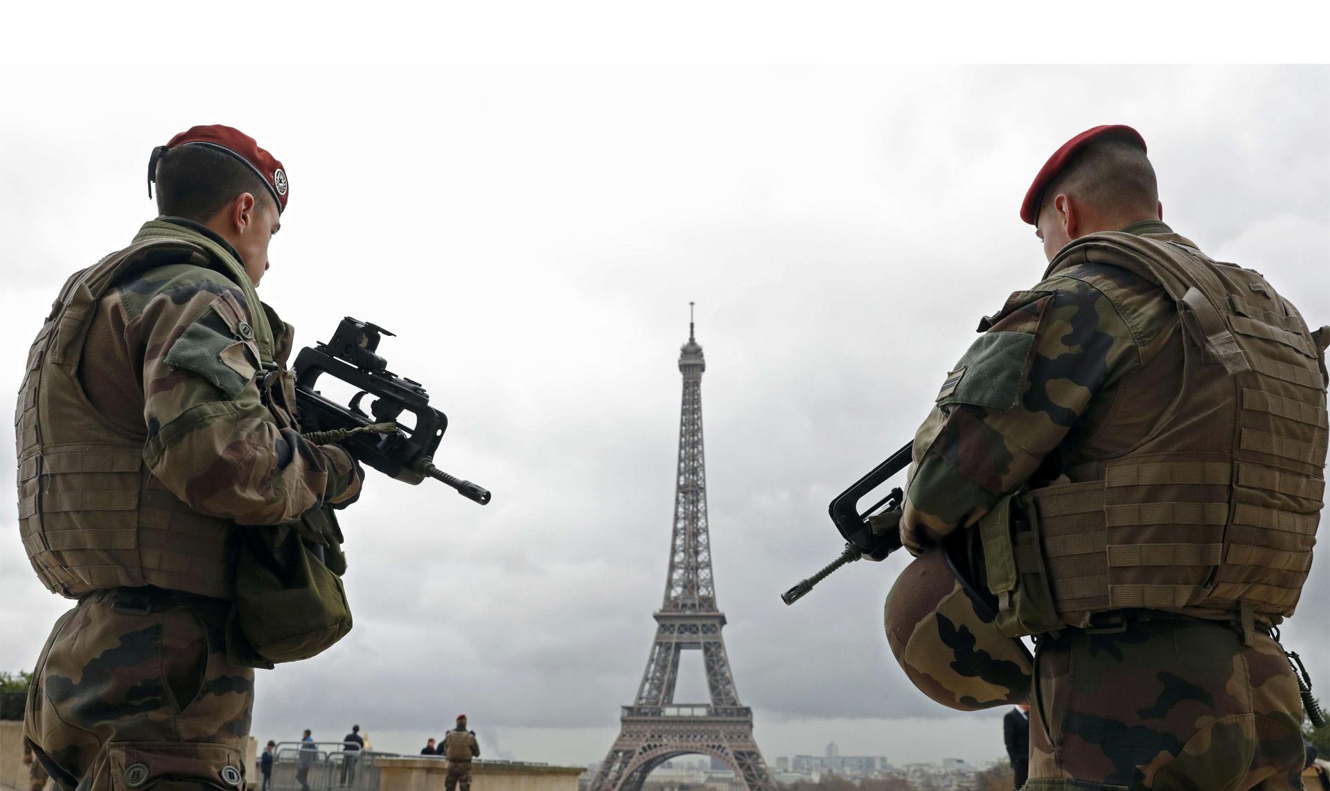 Tras los atentados de París, las autoridades francesas actúan para estar más preparados
