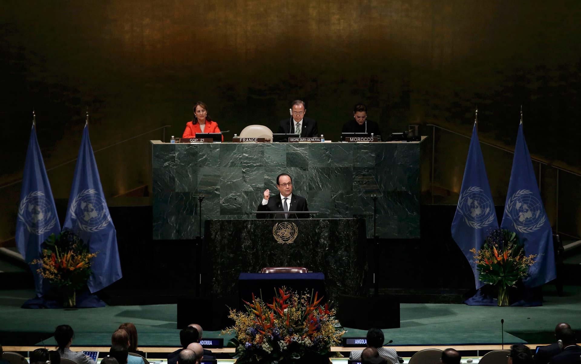En diciembre pasado se llegó a un acuerdo mundial para proteger el medio ambiente