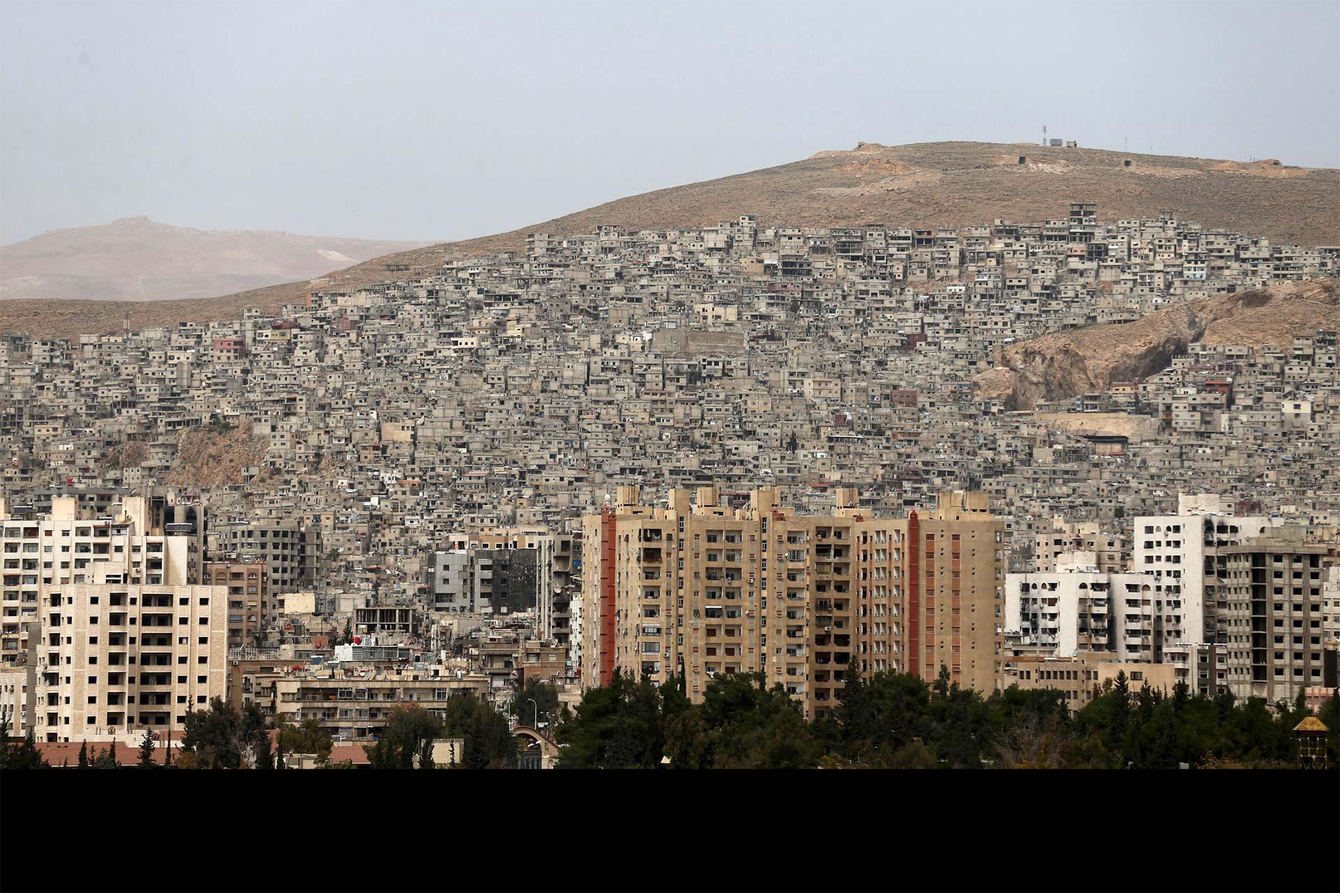 Los mismos laburaban en una empresa de cemento ubicada cerca de Damaso, en Siria