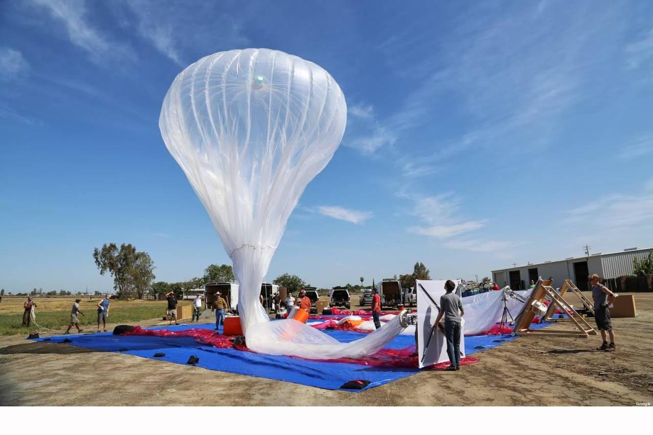 La marca utilizará globos aerostáticos para que la isla de Sir Lanka en Asia cuente con conexión Wifi a gran escala