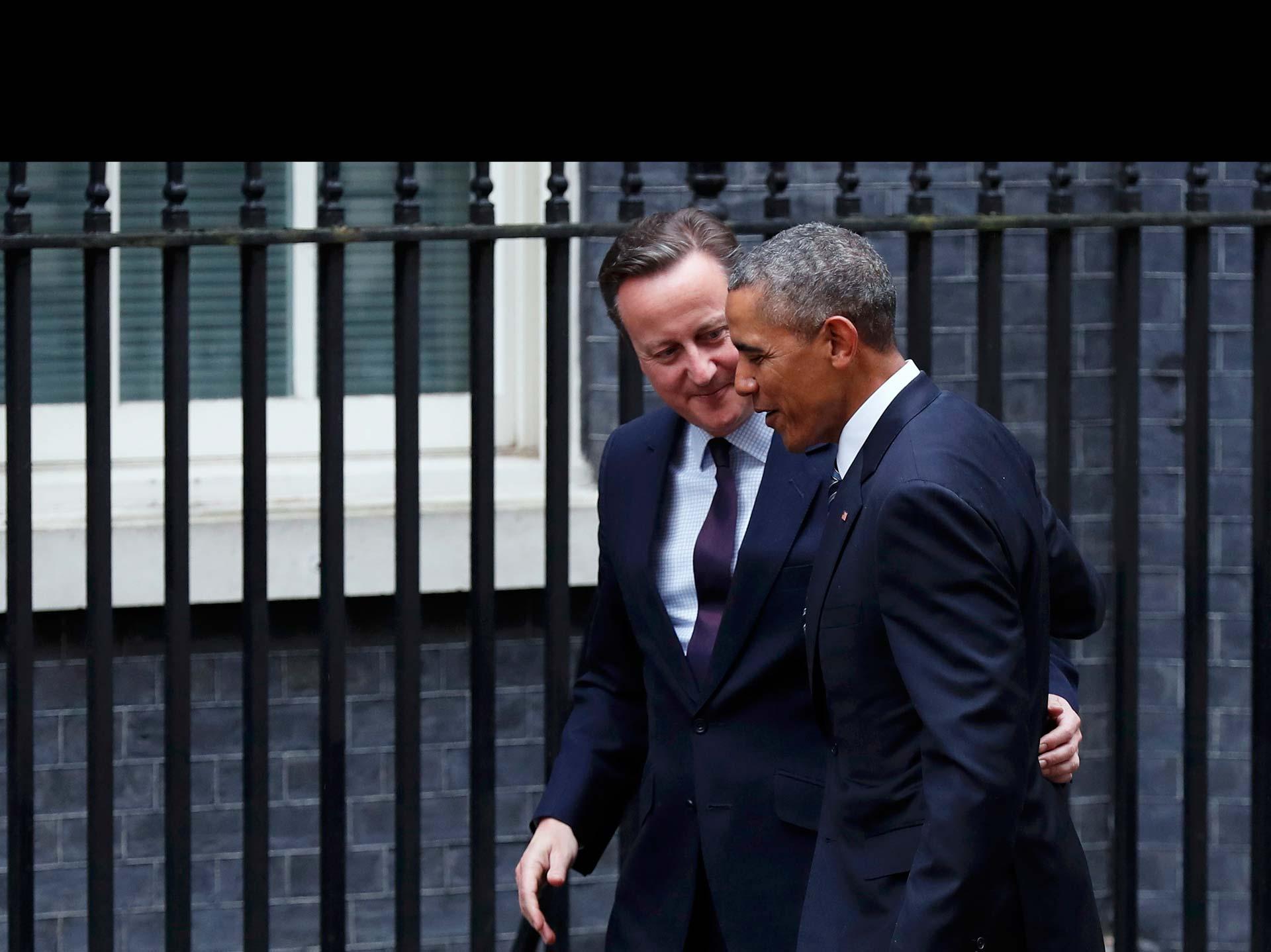 """""""La Unión Europea no modera la influencia británica, la magnifica"""", escribió el presidente de EE.UU."""