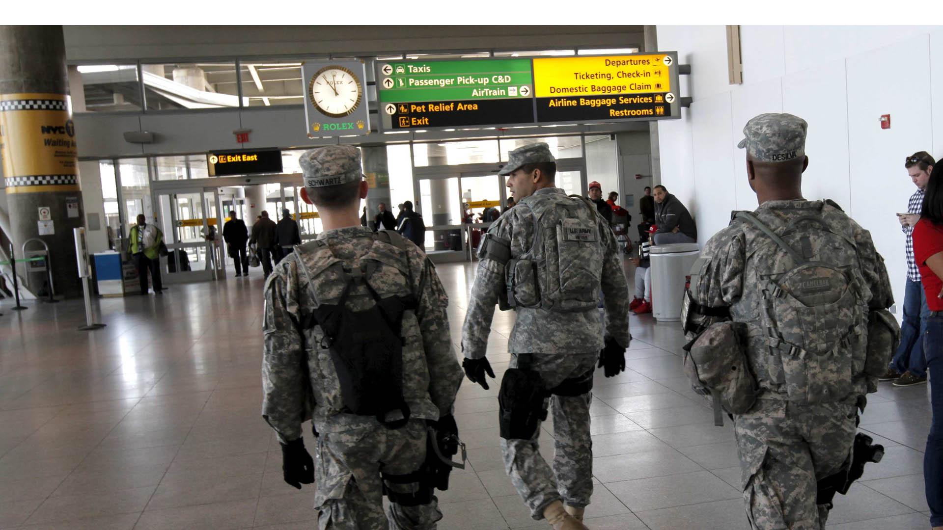 Con los 217 uniformados que viajarán, el número total de militares aumentará a 4 mil