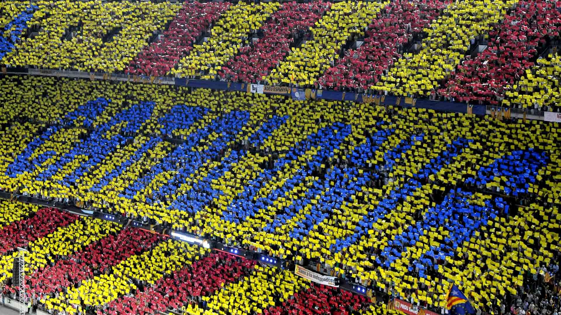 El jurado falló a favor del FC Barcelona, aprobando el ingreso de banderas referentes a la independencia catalana para la final de Copa del Rey