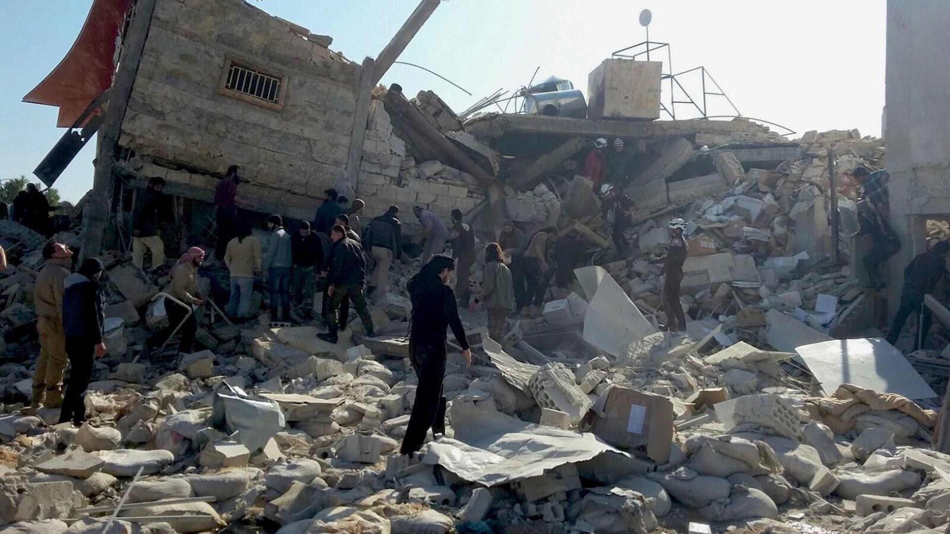 Ataque a hospital en Alepo
