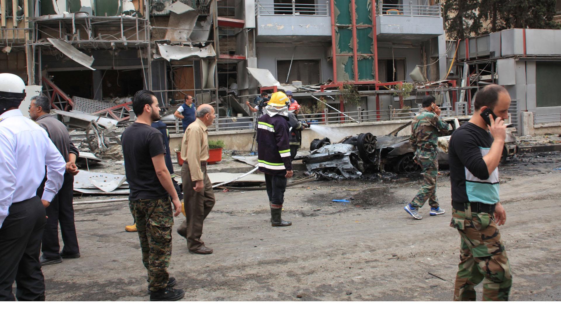 Combates entre soldados y rebeldes en Alepo