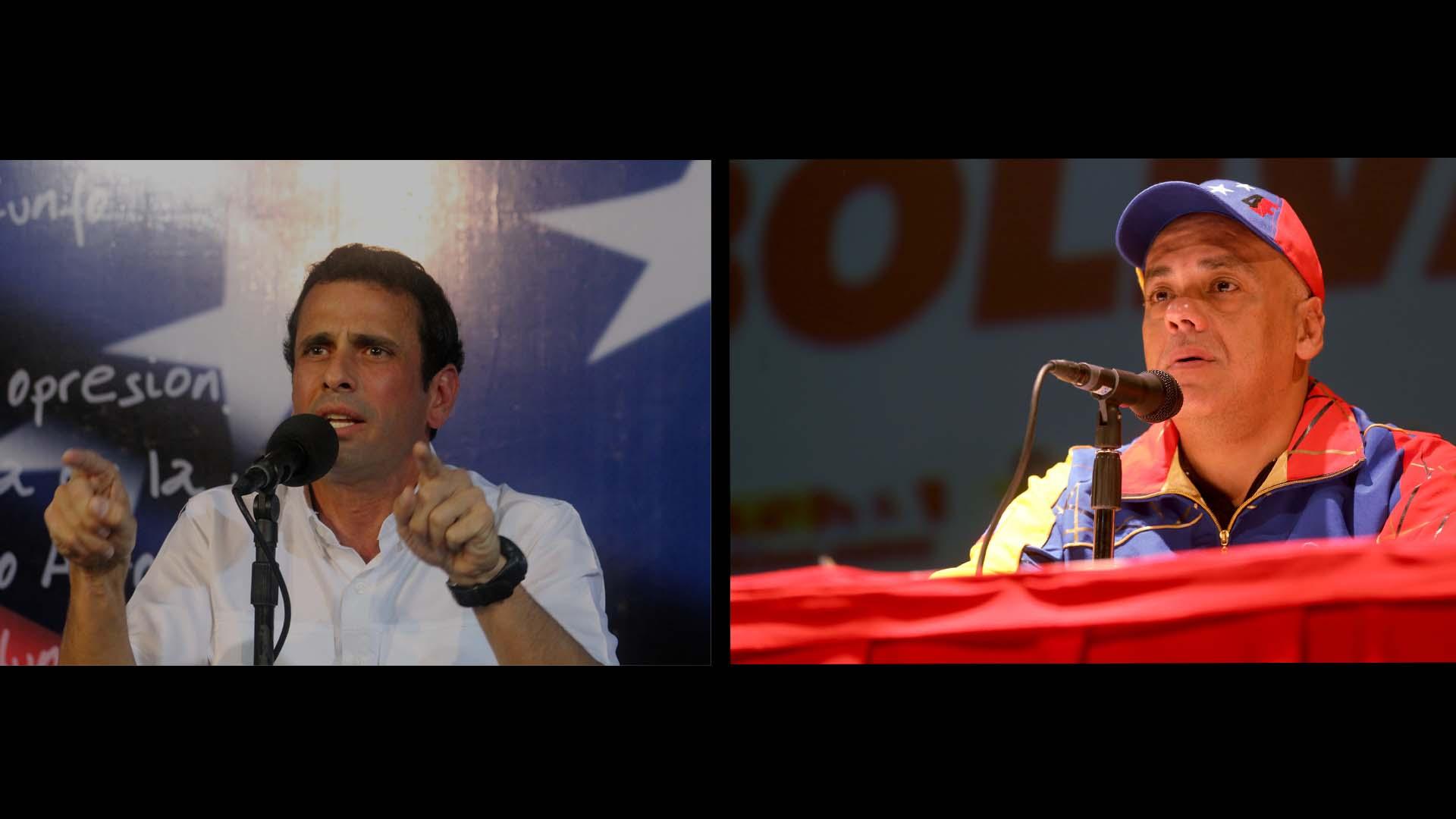 Capriles exigió respetar a quienes se decantaron por el Referéndum, al tiempo que Jorge Rodríguez reportó irregularidades en las firmas