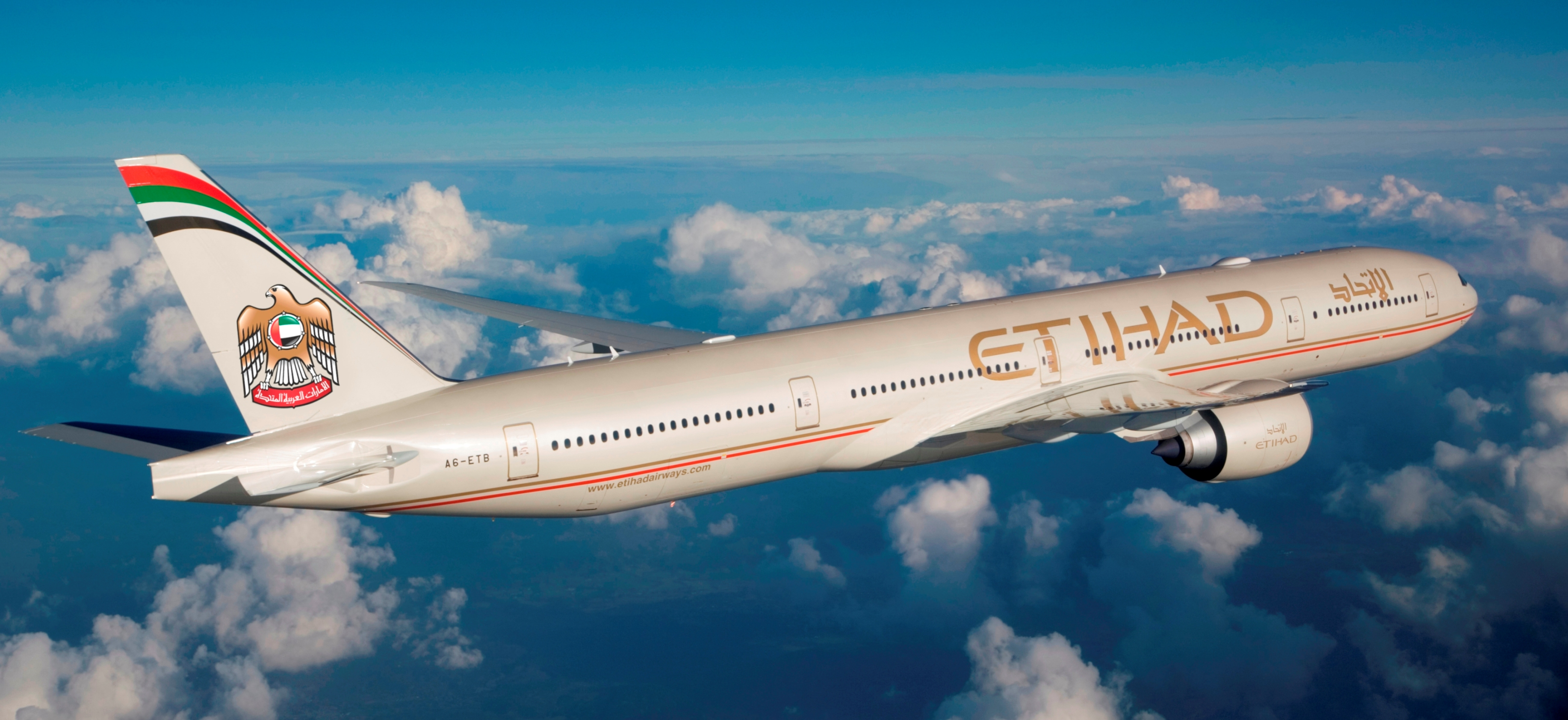 Turbulencias en vuelo de Etihad Airways