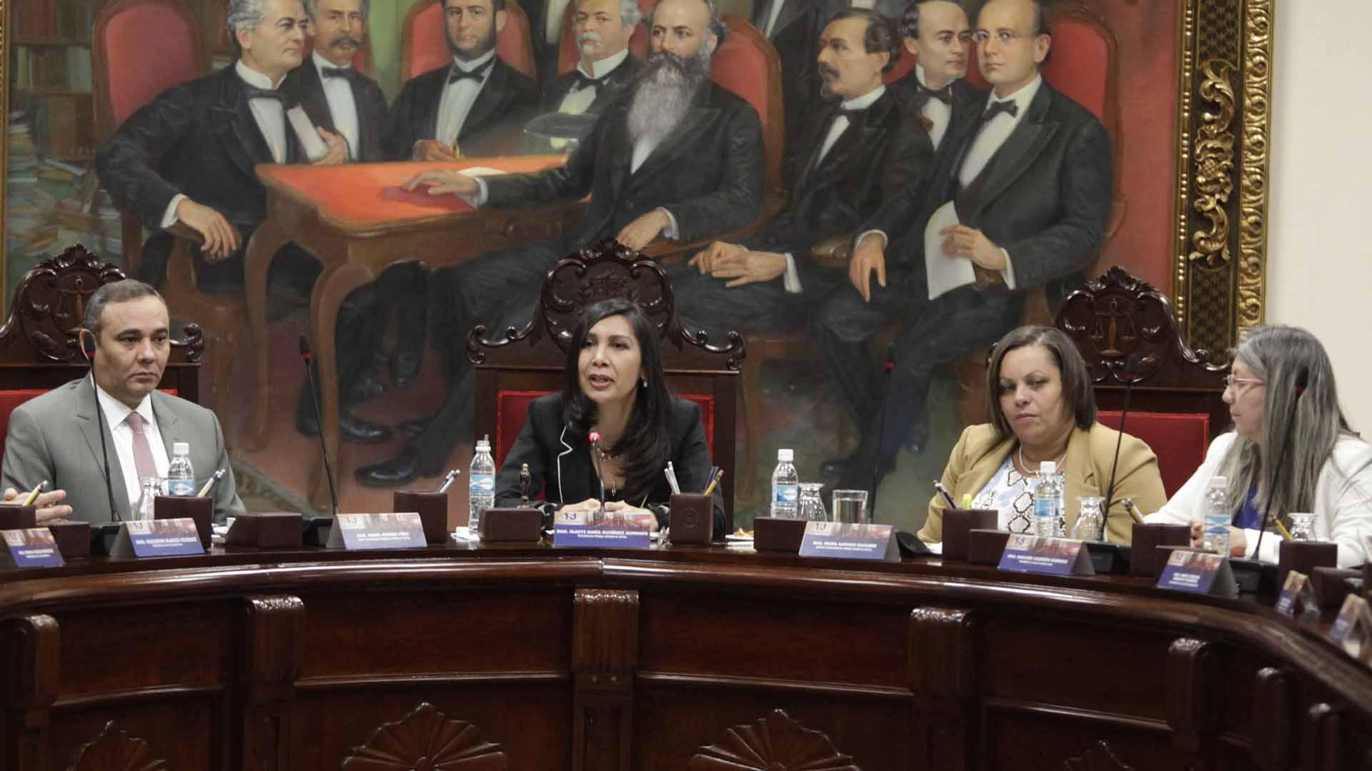 Consideraron que el Parlamento perseguía la desviación del poder al aumentar el numero de magistrados