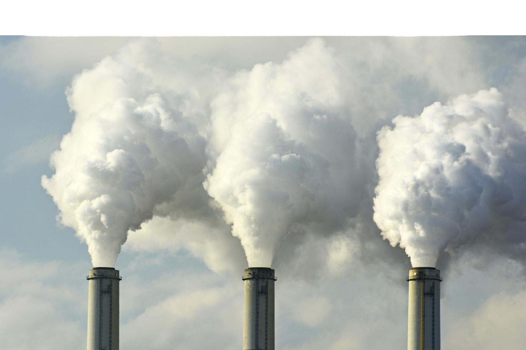 Peligro de salud por contaminación de aire
