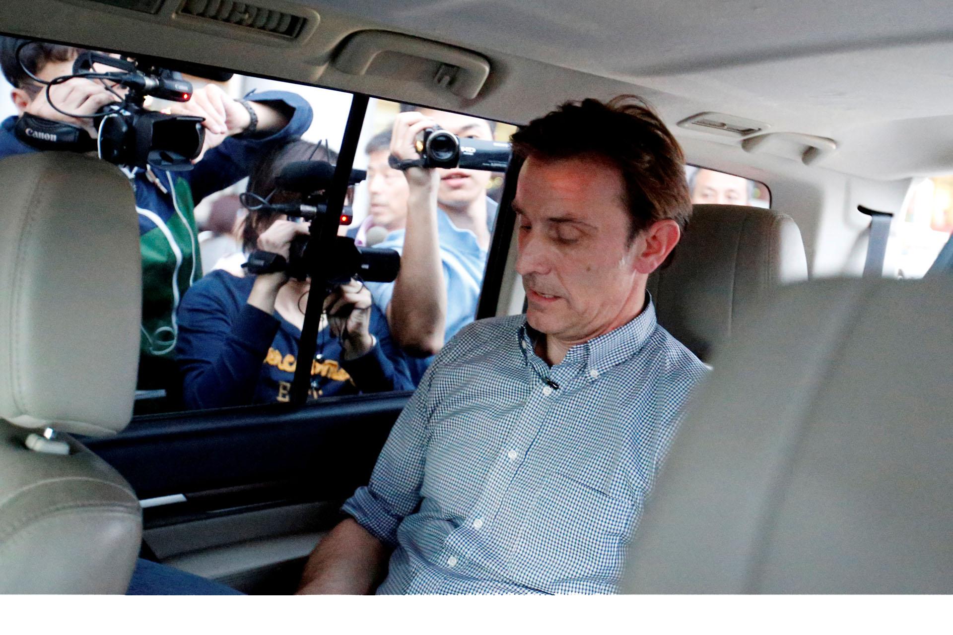 Detenido periodista de la BBC