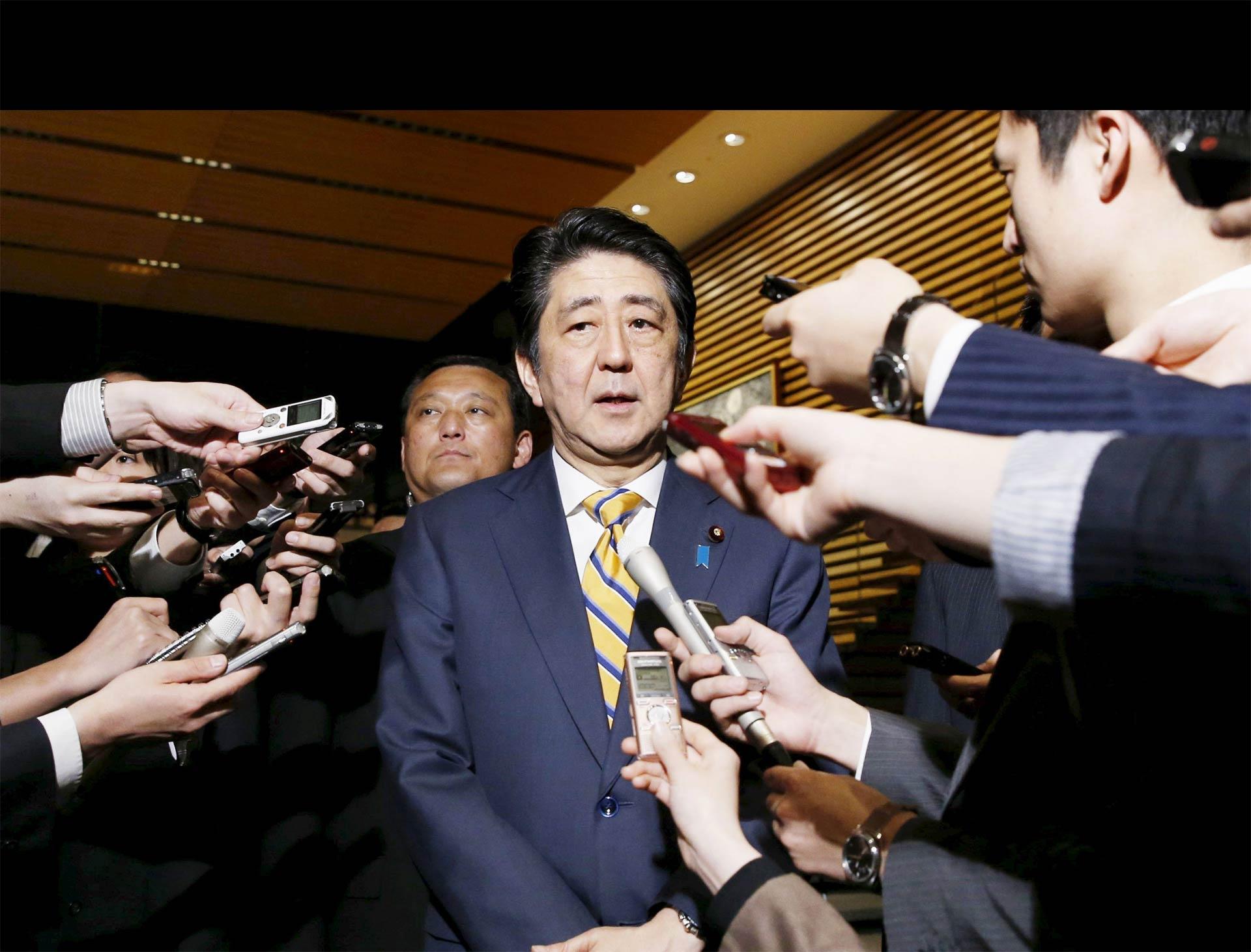 Así lo manifestó el primer ministro japonés, quien organizará la próxima reunión de las potencias mundiales
