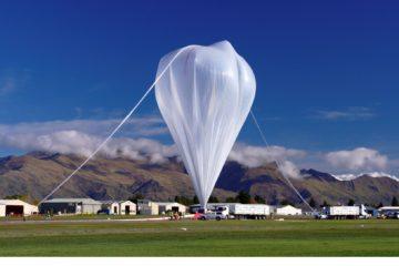 NASA envía globo al espacio
