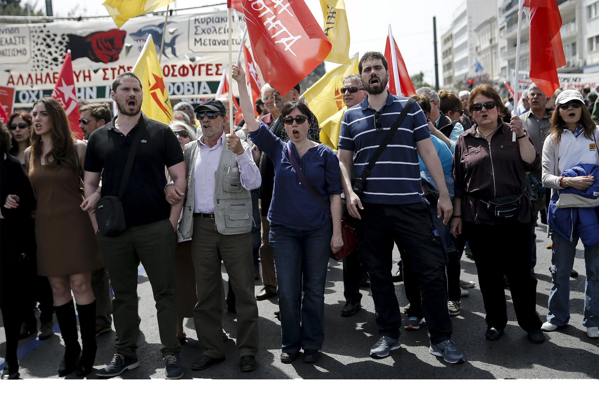 Amplias huelgas se harán en Grecia