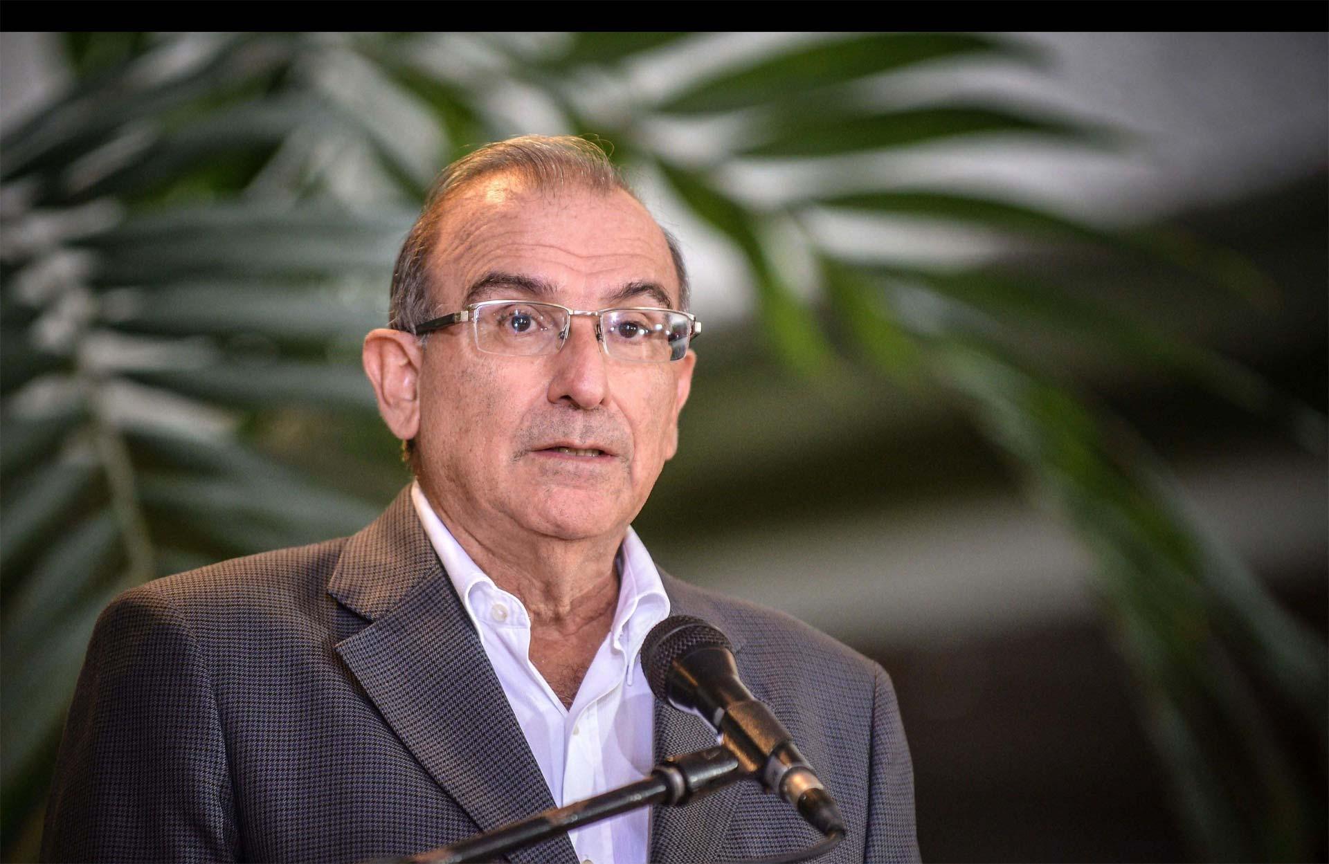 Así lo aclaró un funcionario colombiano, quien dijo que las opiniones de la guerrilla se reciben en Cuba