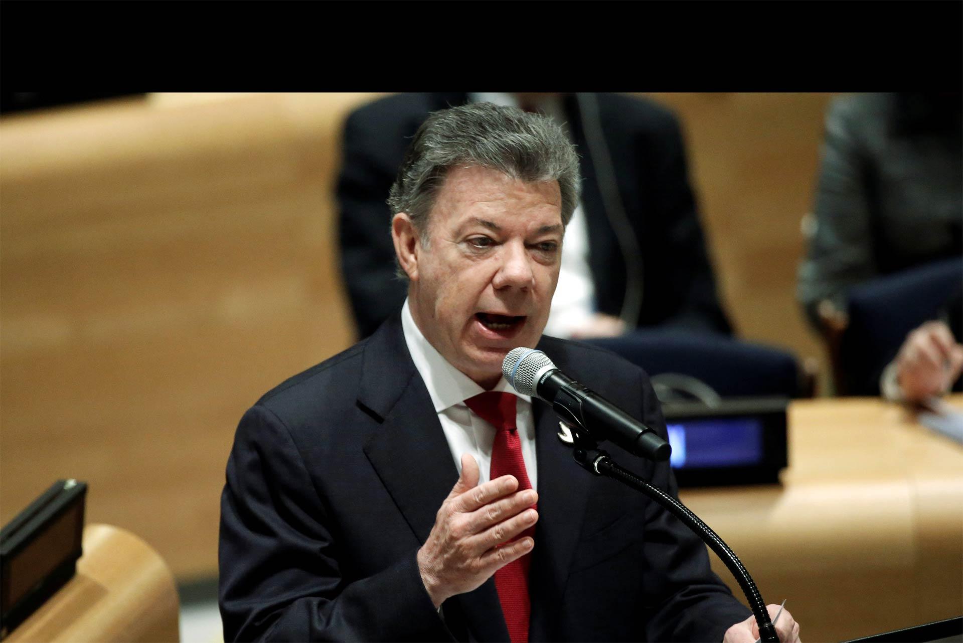 El presidente Santos destacó la cooperación entre los tres países en la batalla contra el narcotráfico