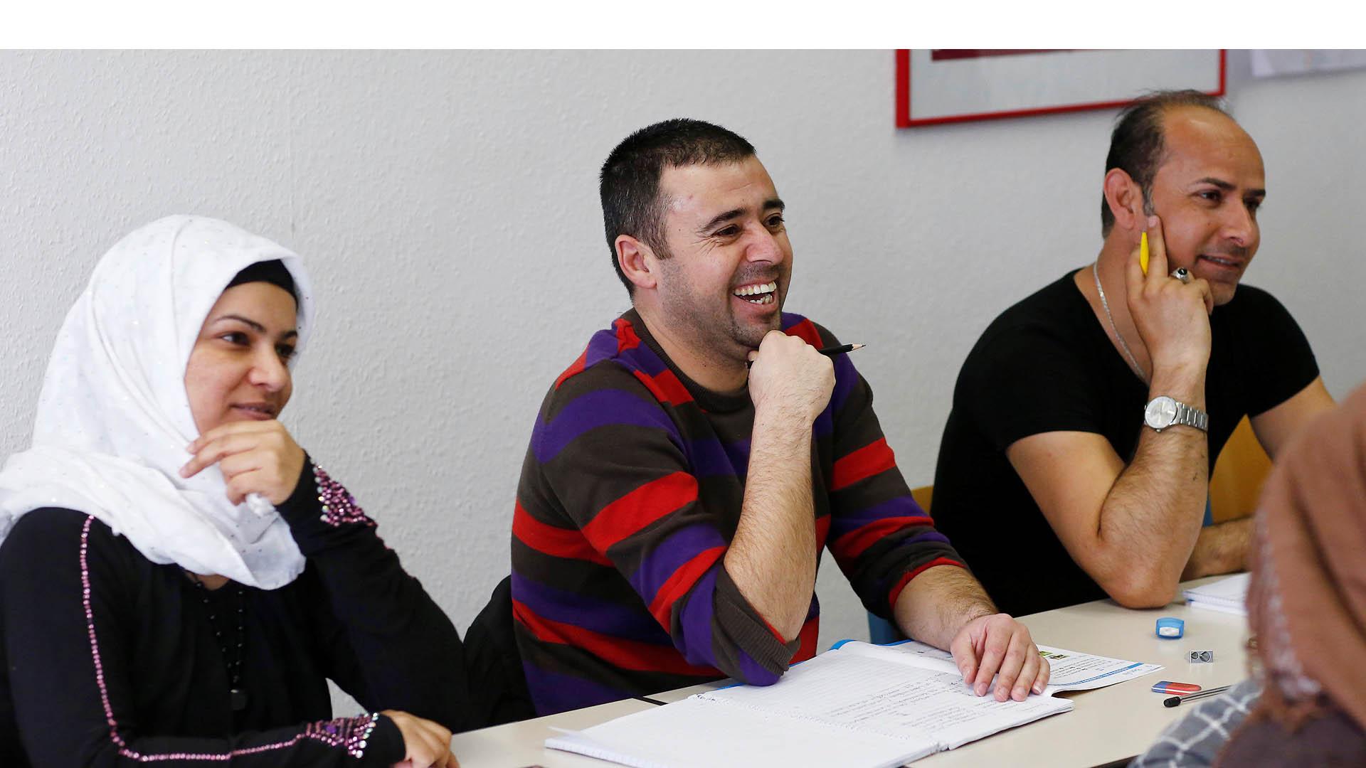 Alemania ofrecerá de cursos de idioma para facilitar la incorporación de los migrantes la sociedad germana