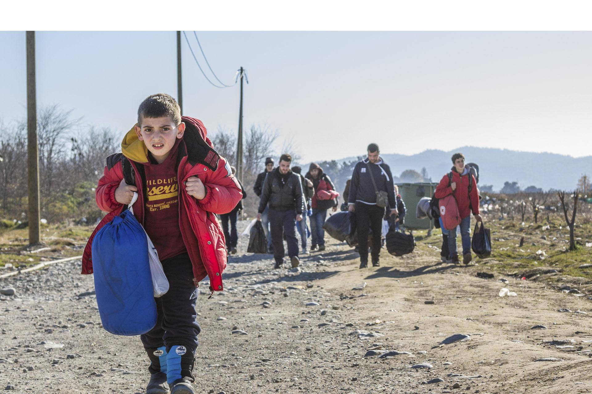 Cada día son más los niños y adolescentes que llegan solos a la UE