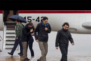 Tres españoles llegaron a su tierra, luego de diez meses de cautiverio en Siria