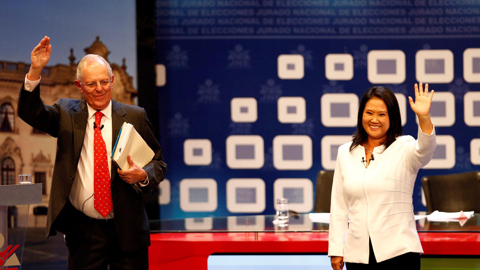 El 5 de junio los peruanos elegirán entre dos modelos de derecha, la autoritaria de Fujimori y la tecnocrática de Kuczynski