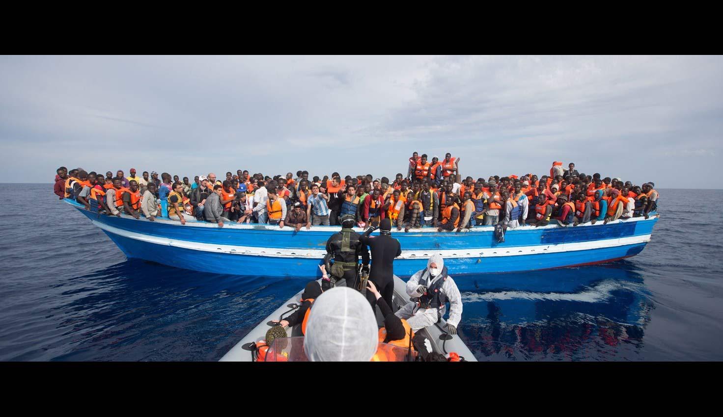 Se encontraban en las aguas del Mediterráneo, entre Sicilia y el norte de África