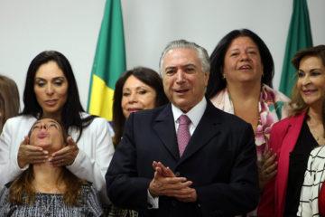 Gobierno temporal de Brasil defiende mujeres