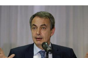 El ex jefe del gobierno español se reunió con ambos sectores políticos para lograr un gran diálogo nacional