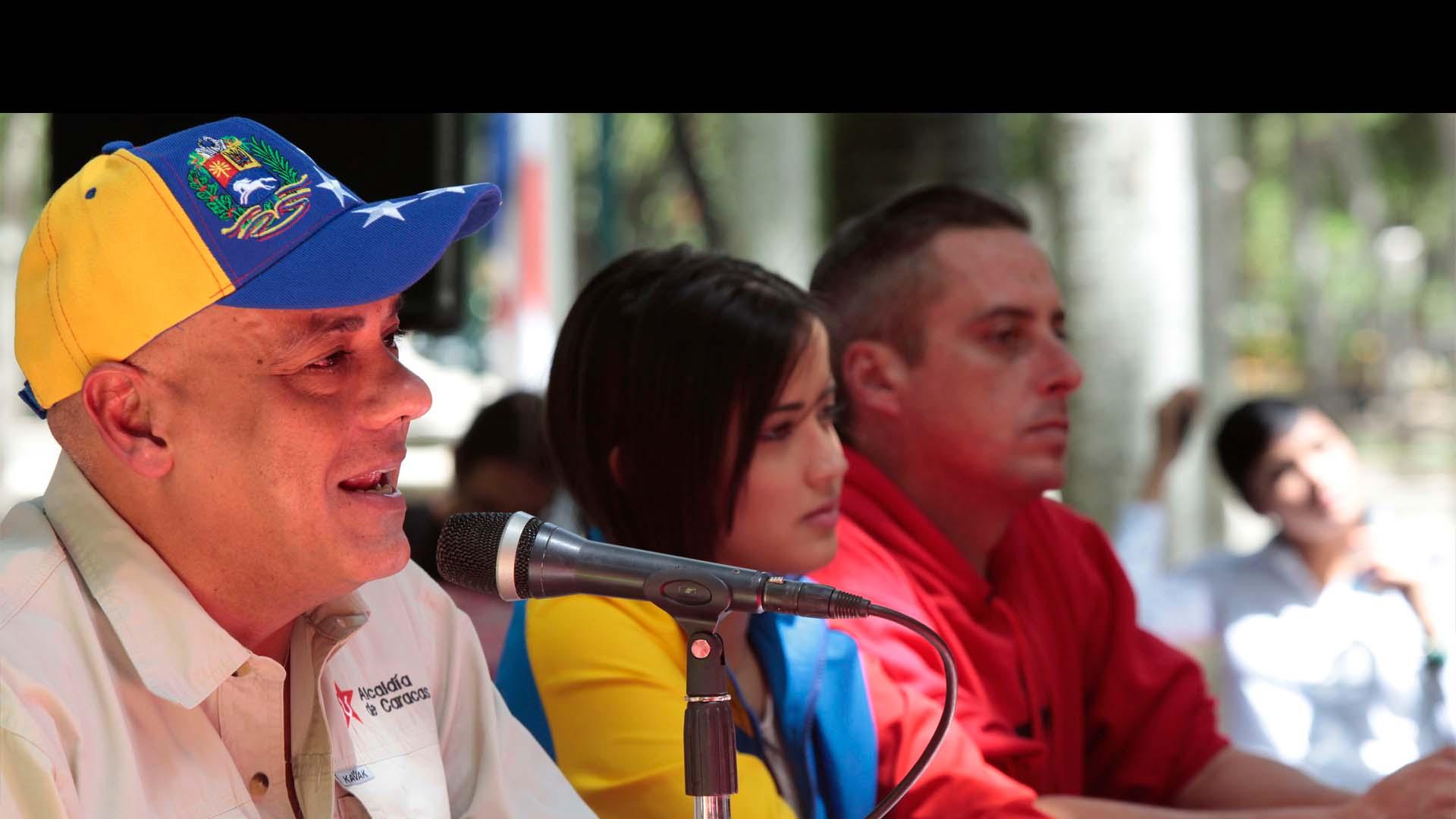 El alcalde metropolitano, Jorge Rodríguez, introducirá un recurso contra la MUD por rubricas defectuosas
