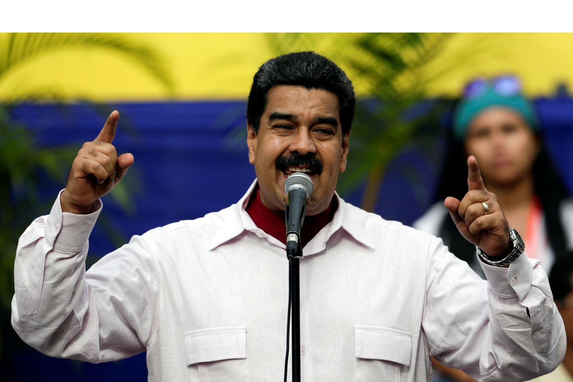 Maduro apoya conversaciones con EE.UU.