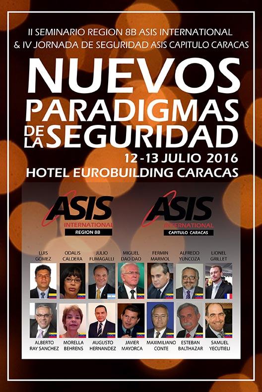 Alfredo Yuncoza, Vicepresidente Regional de ASIS, indicó que 14 ponentes internacionales y locales discutirán sobre los nuevos paradigmas de la seguridad