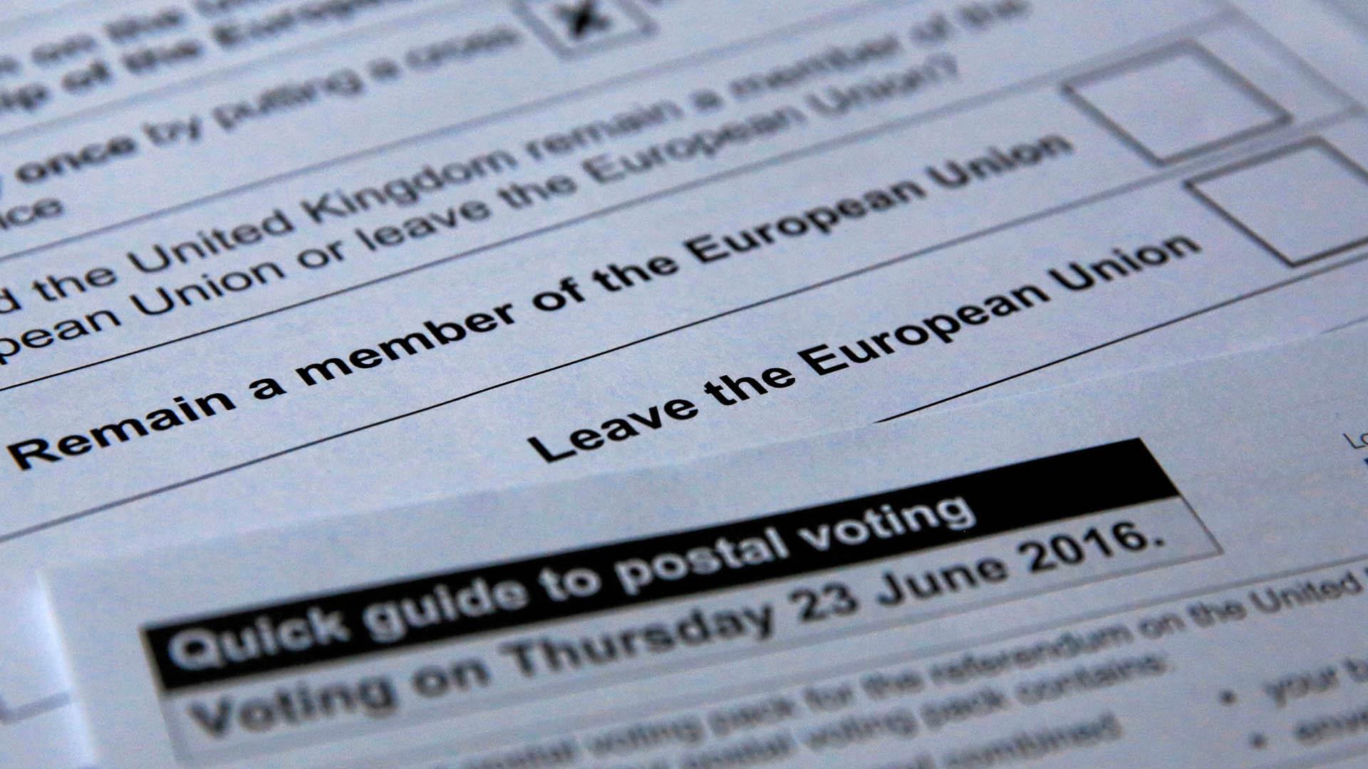El titular de la cartera de finanzas dijo que la salida del Reino Unido de la Unión Europea sería duro para todos