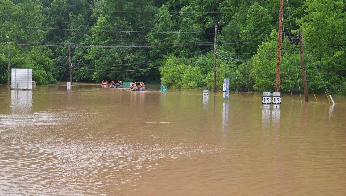 La localidad se encuentra en estado de emergencia. El gobernador calificó a las lluvias como las peores en un siglo