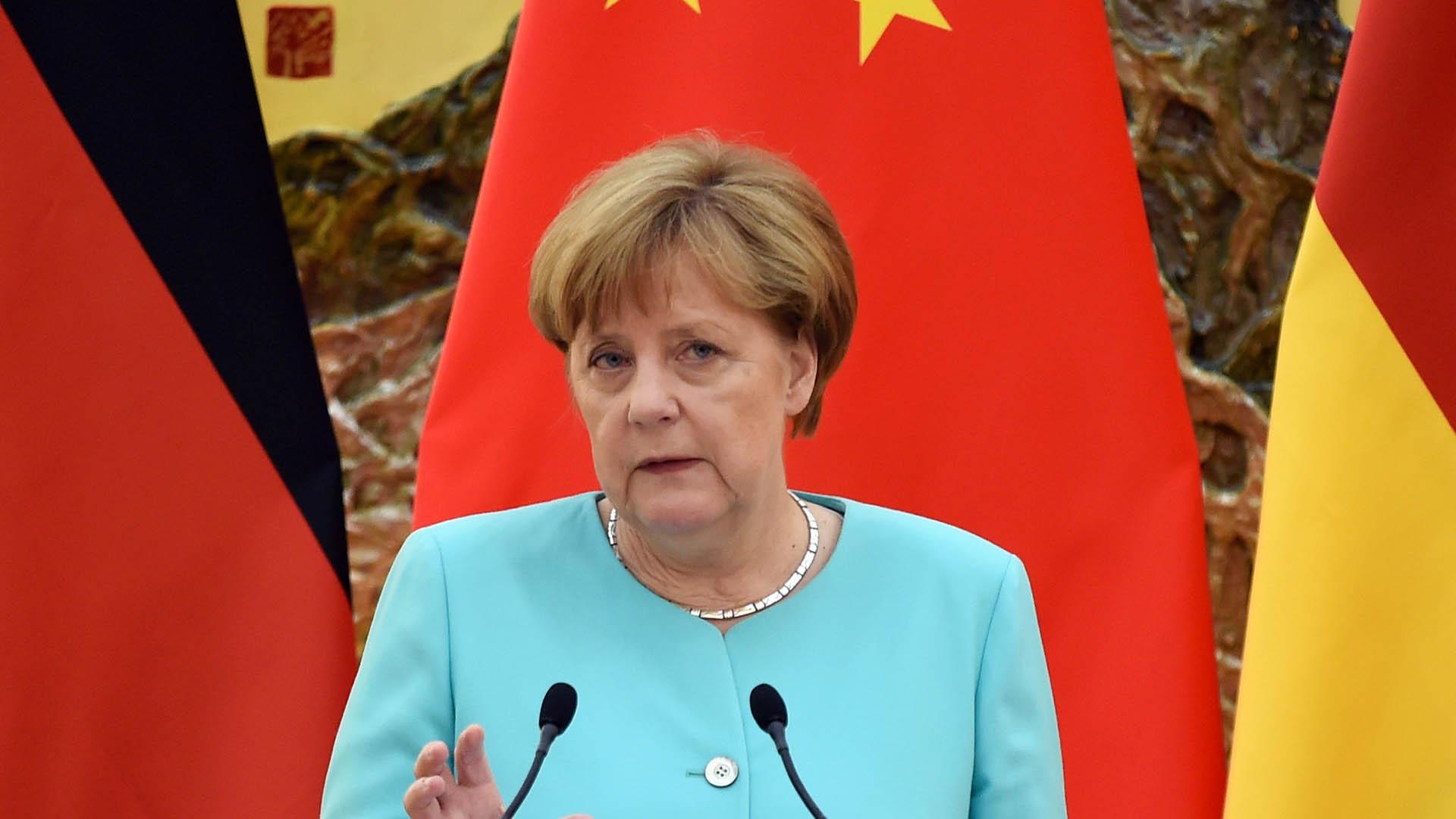 """La canciller alemana reafirmó su postura mientras reiteró que es """"una decisión de los todos los ciudadanos"""""""