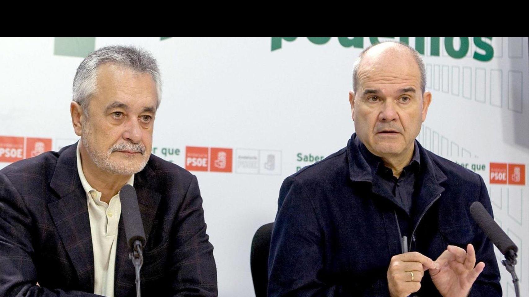 """Manuel Chaves y José Antonio Griñán podrían comparecer ante el juez al frente del """"caso de los ERE"""""""