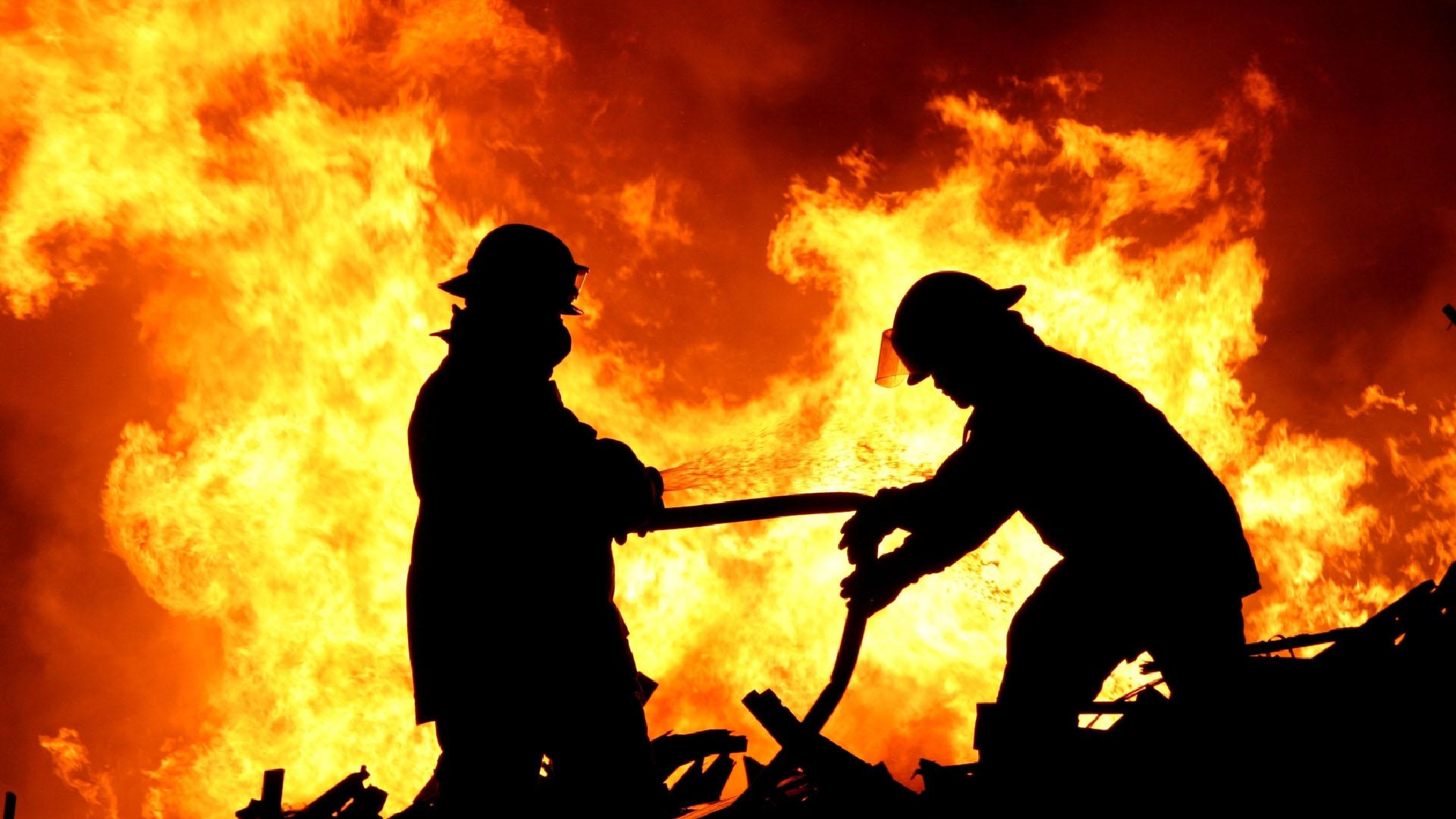 La quema fue causada por habitantes de la zona quienes estaban protestando