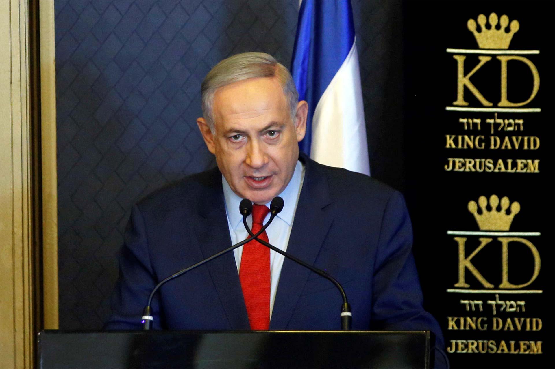 El primer ministro israelí Benjamin Netanyahu se reunirá en Roma con el secretario de Estado norteamericano John Kerry