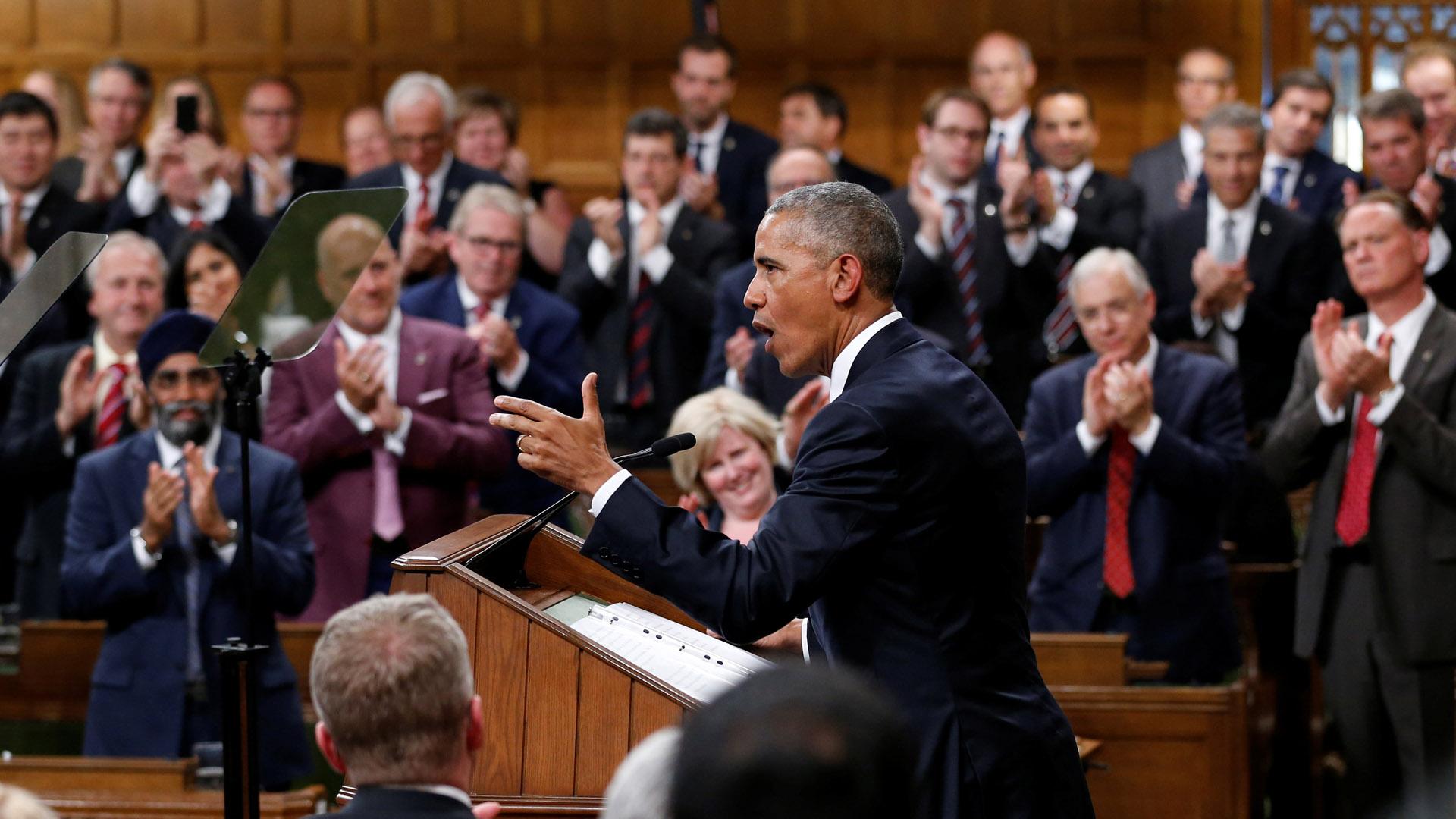 Obama aboga por diálogo en Venezuela