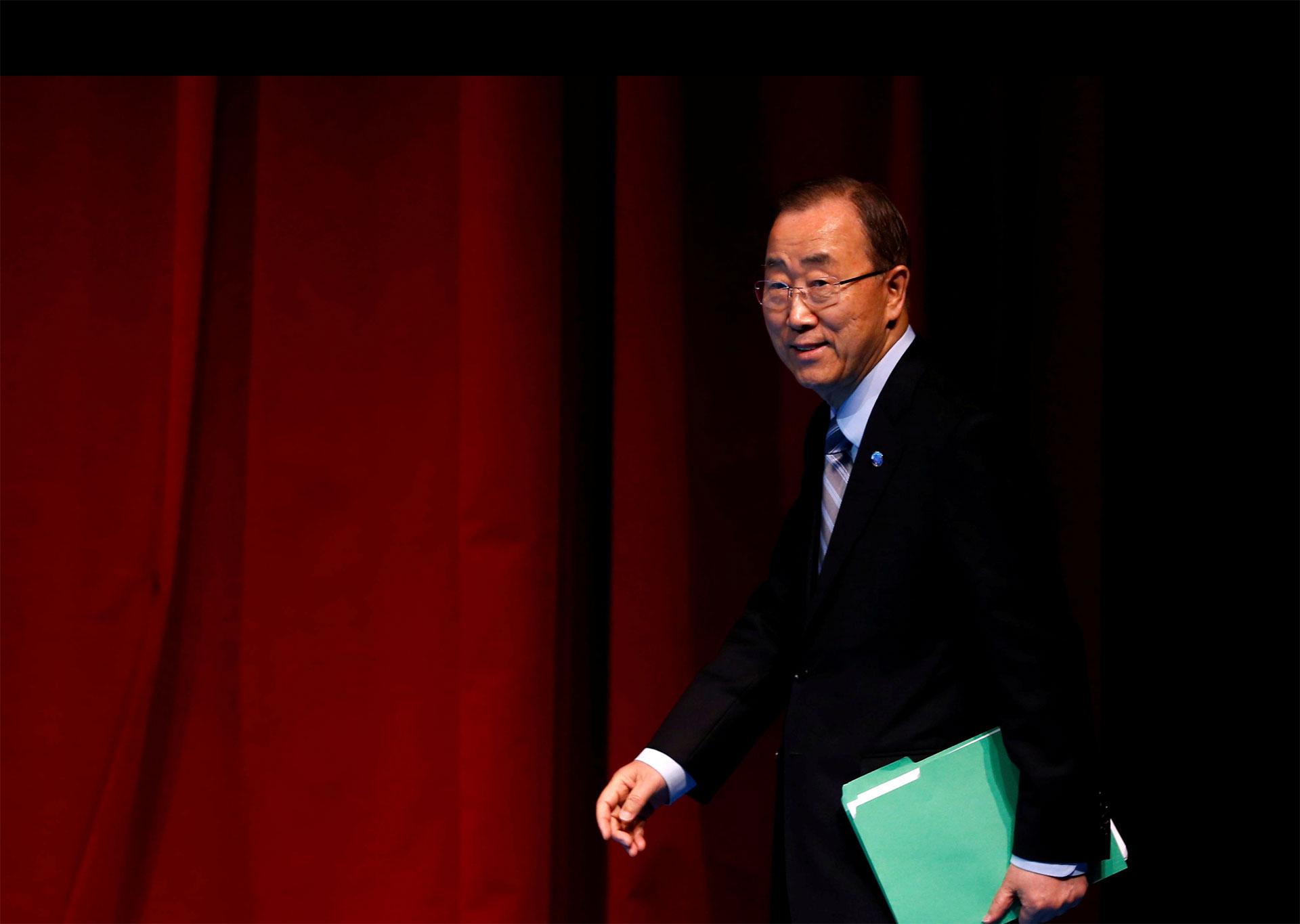 El secretario general de la ONU se reunirá con solicitantes de asilo, previo a una cumbre de aloto nivel que abordará el tema