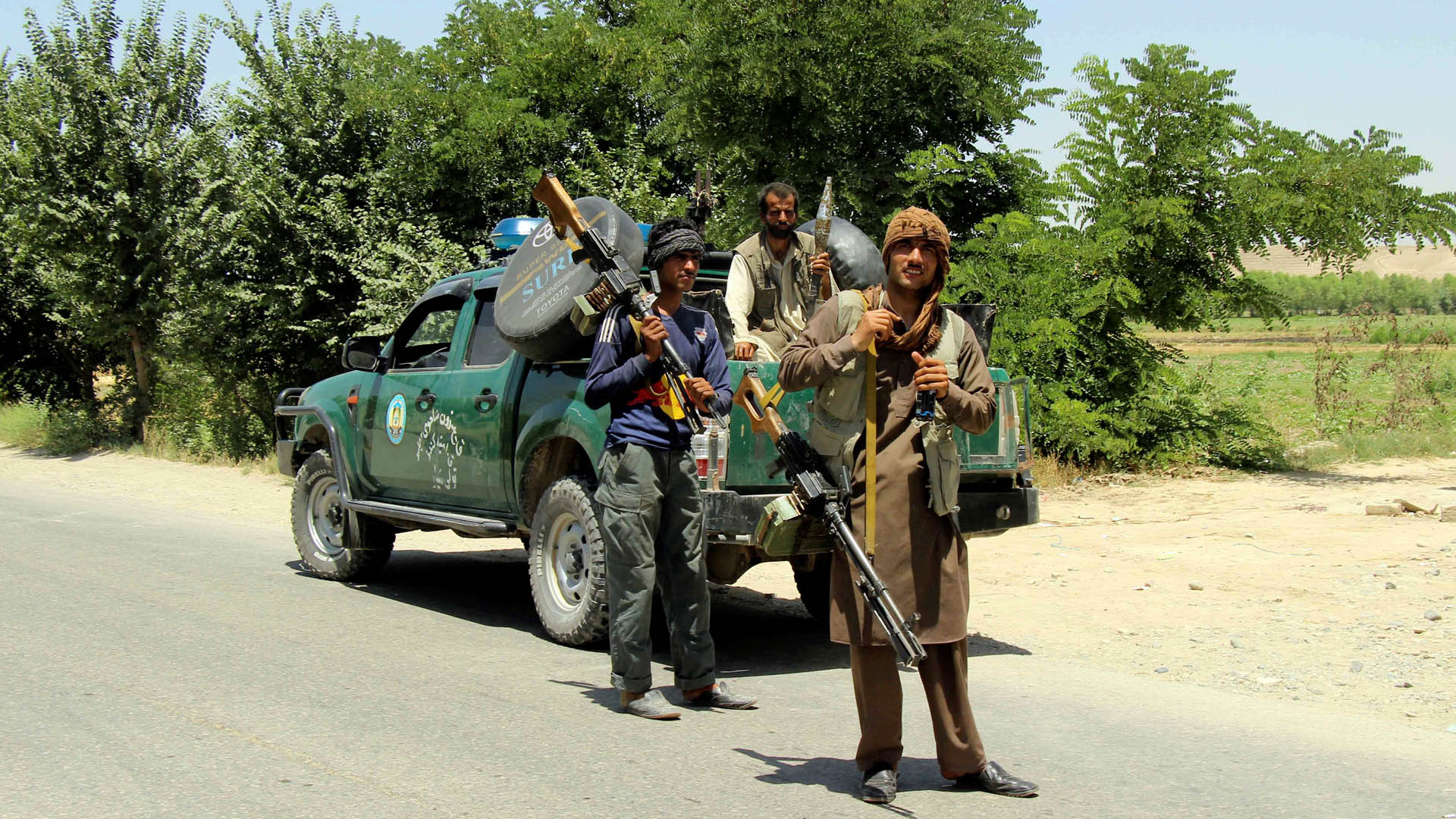 Liberan a pasajeros secuestrados en Afganistán