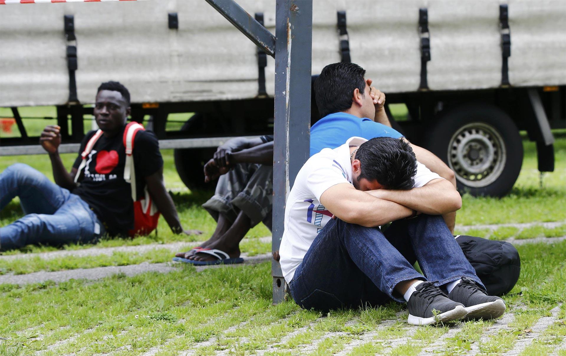 Alrededor de un 80 por ciento de los migrantes que llegaron a Alemania no tenían documentos de identidad