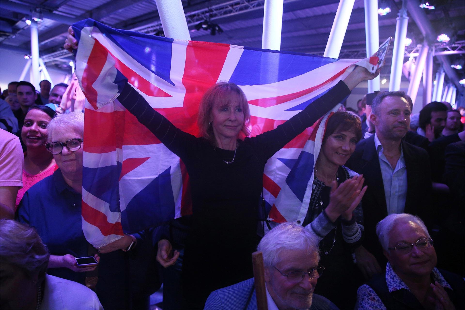 Según varias encuestas, varios británicos votarían por la salida del Reino Unido de la Unión Europea