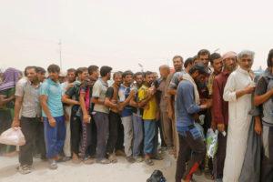 Según Acnur, 65 millones de personas huyeron de sus lugares de origen por diversos conflictos armados