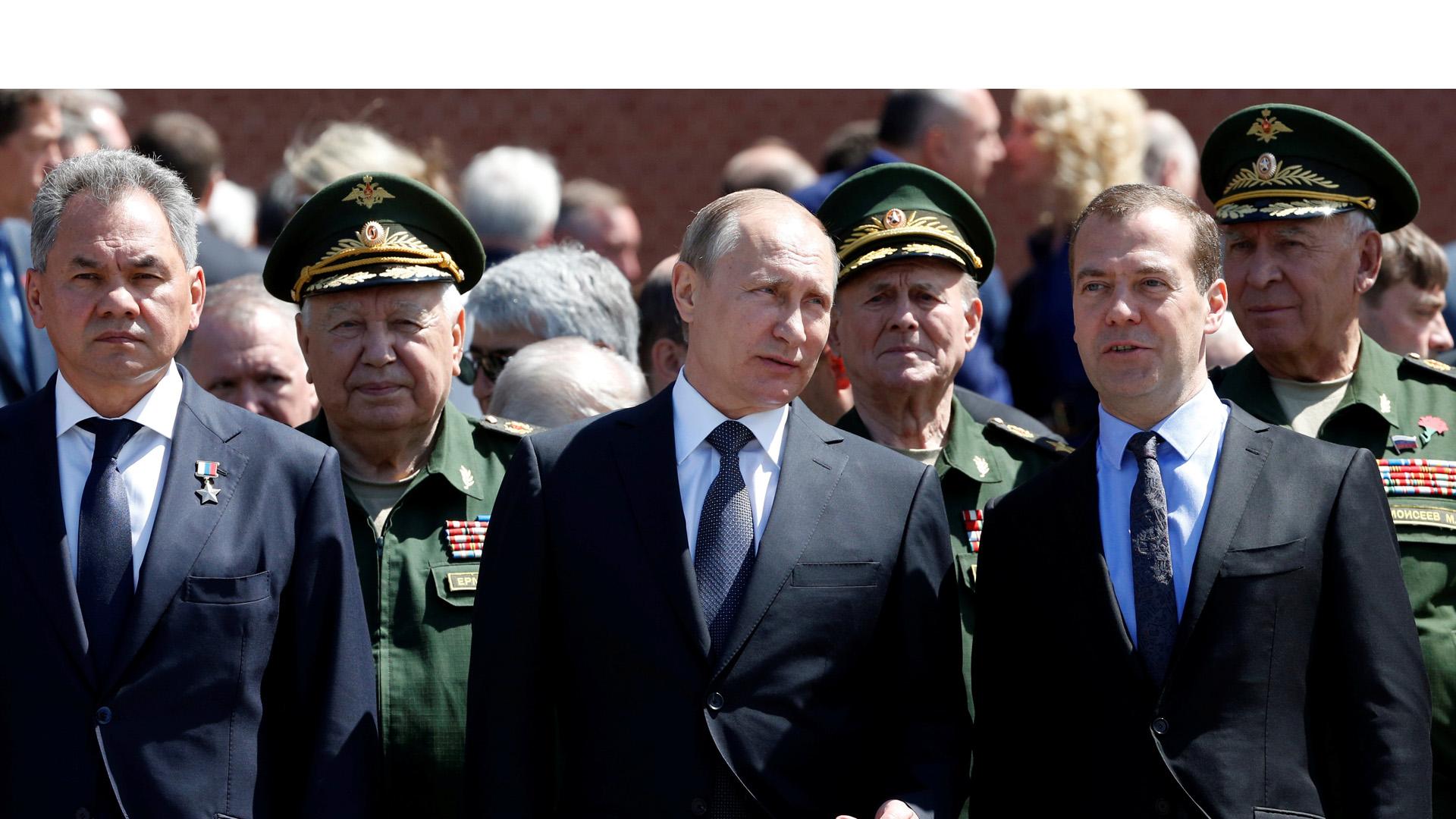 Putin quiere reforzar sus fuerzas de combate