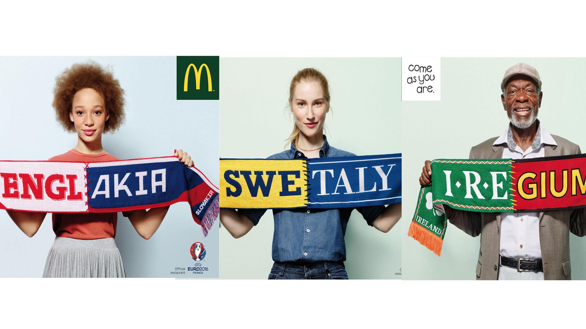 La marca de comida rápida quiere disminuir los hechos violentos que se han presentado durante la Eurocopa en Francia