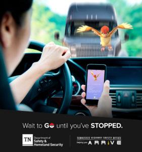 La policia de Tenesse a través de esta imagen busca crear conciencia en conductores
