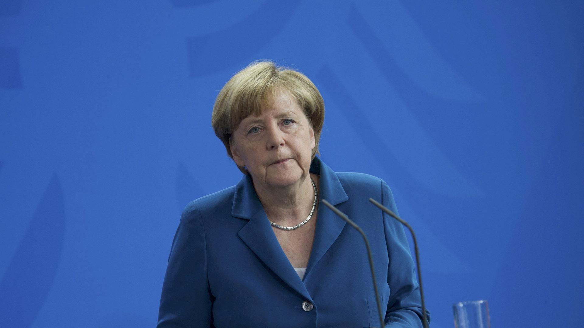 La canciller alemana aseguró que las fuerzas de seguridad continuarán trabajando para seguir garantizando la libertad y la vida