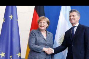 La jefa de Gobierno alemán aseguró que su país tiene intereses en colaborar con la estructuración socio-económica de Argentina