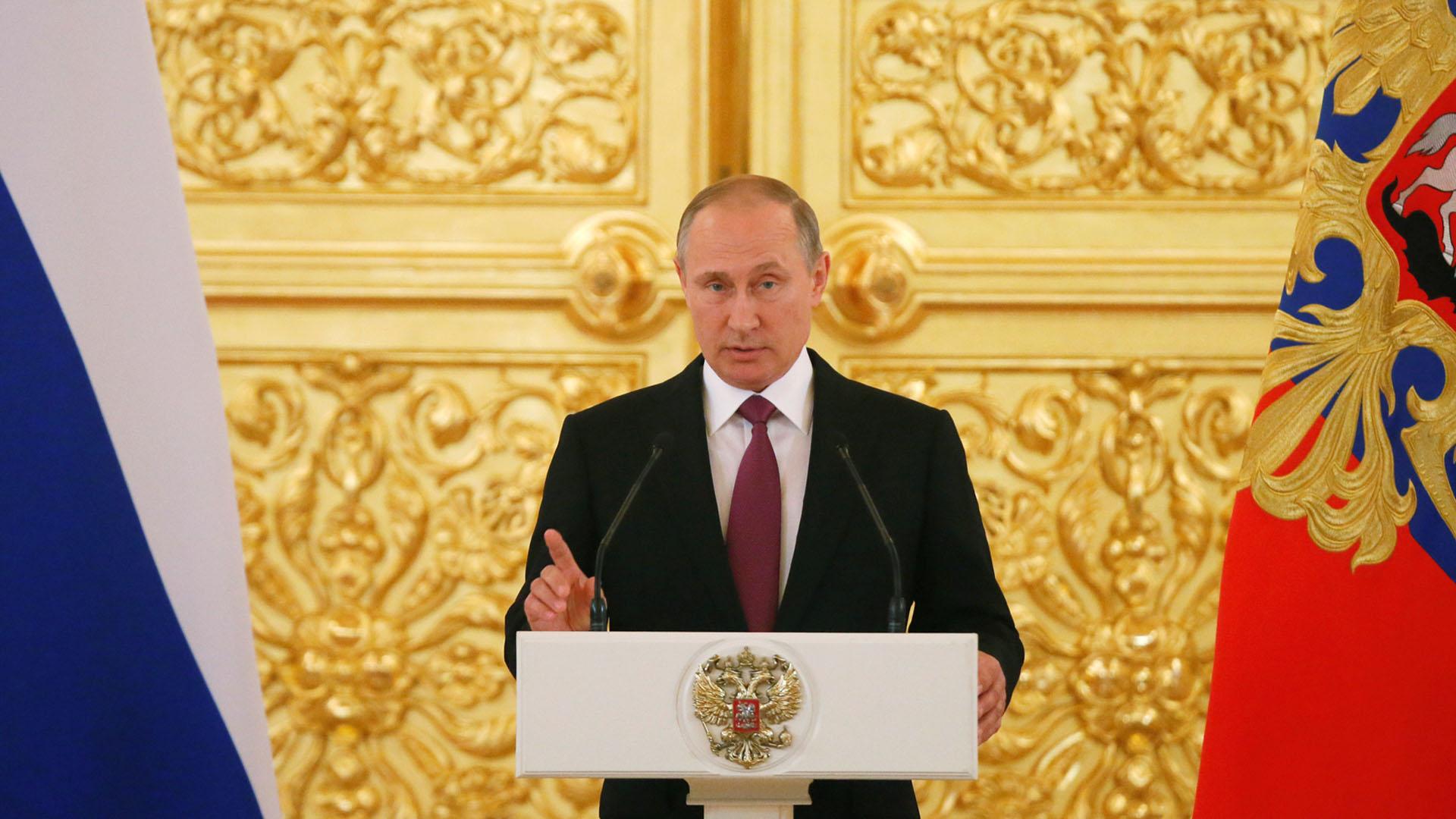 Putin rechaza suspensión de atletas rusos