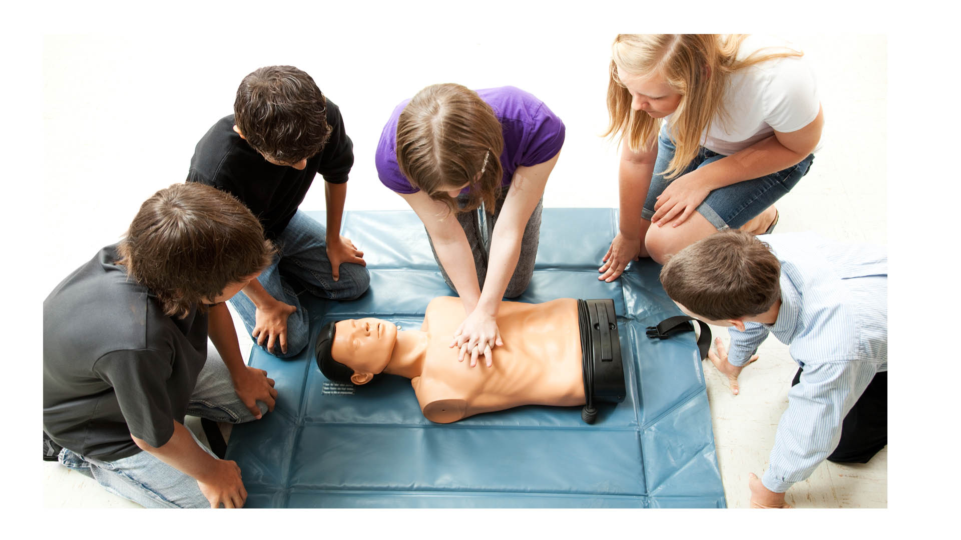 En casos de emergencia y sin personal médico cerca es importante mantener la calma y saber qué hacer