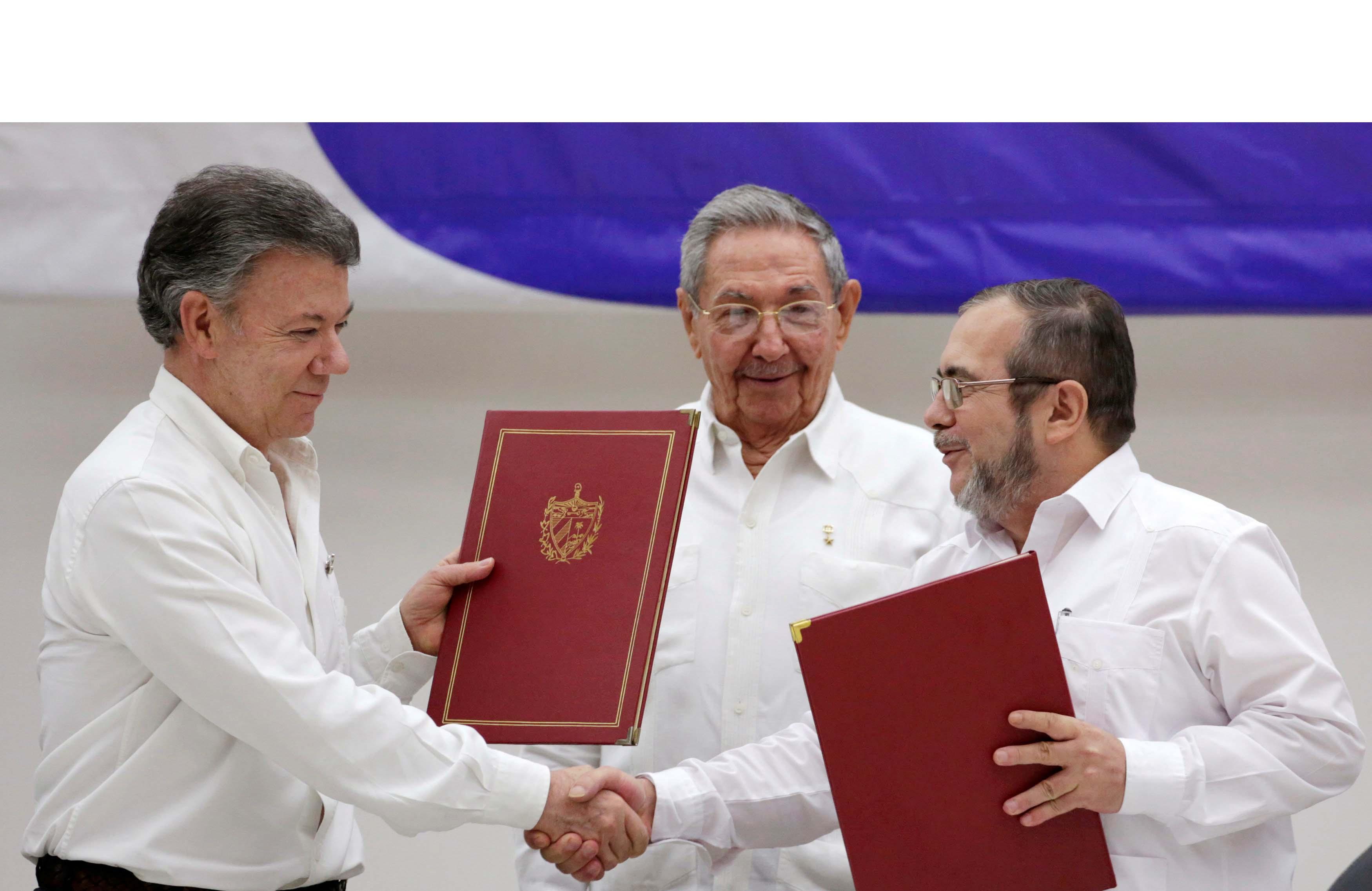 Para facilitar las negociaciones que se desarrollan en La Habana desde finales de 2012, ambas partes fueron avanzando en los puntos