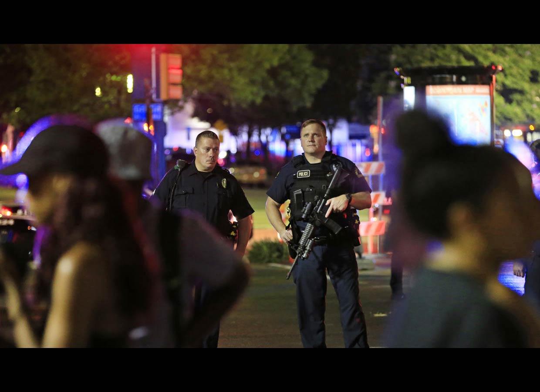 Texas amaneció con dos incidentes con disparos